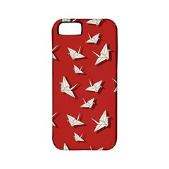 Paper Cranes Pattern Apple Iphone 5 Classic Hardshell Case (pc+silicone) by Valentinaart