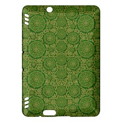 Stars In The Wooden Forest Night In Green Kindle Fire Hdx Hardshell Case