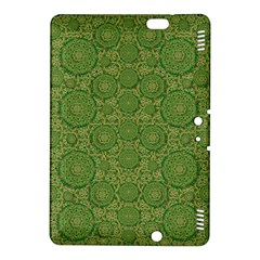 Stars In The Wooden Forest Night In Green Kindle Fire Hdx 8 9  Hardshell Case by pepitasart