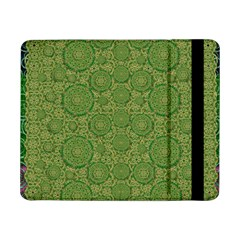 Stars In The Wooden Forest Night In Green Samsung Galaxy Tab Pro 8 4  Flip Case by pepitasart