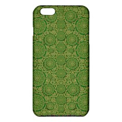 Stars In The Wooden Forest Night In Green Iphone 6 Plus/6s Plus Tpu Case by pepitasart