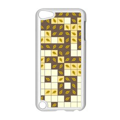Autumn Leaves Pattern Apple Ipod Touch 5 Case (white) by linceazul