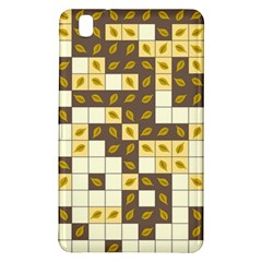Autumn Leaves Pattern Samsung Galaxy Tab Pro 8 4 Hardshell Case by linceazul