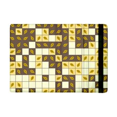Autumn Leaves Pattern Ipad Mini 2 Flip Cases by linceazul