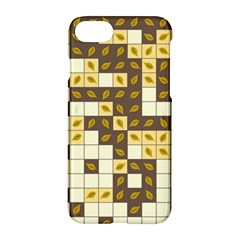 Autumn Leaves Pattern Apple Iphone 8 Hardshell Case by linceazul