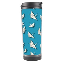 Paper Cranes Pattern Travel Tumbler by Valentinaart