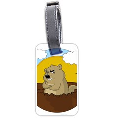 Groundhog Day Luggage Tags (two Sides) by Valentinaart