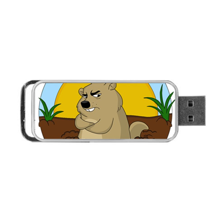 Groundhog day Portable USB Flash (Two Sides)