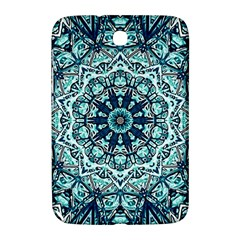 Green Blue Black Mandala  Psychedelic Pattern Samsung Galaxy Note 8 0 N5100 Hardshell Case  by Costasonlineshop