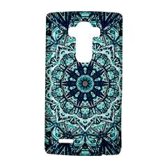 Green Blue Black Mandala  Psychedelic Pattern Lg G4 Hardshell Case