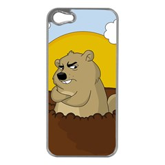 Groundhog Day Apple Iphone 5 Case (silver) by Valentinaart