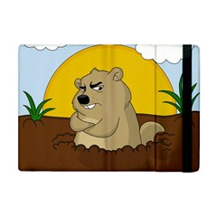 Groundhog Day Apple Ipad Mini Flip Case by Valentinaart