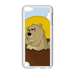 Groundhog Day Apple Ipod Touch 5 Case (white) by Valentinaart