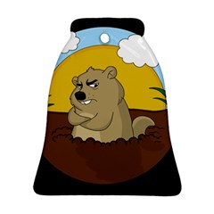 Groundhog Day Ornament (bell)