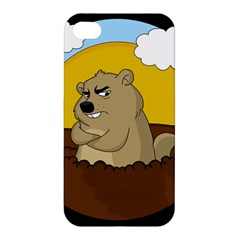 Groundhog Day Apple Iphone 4/4s Premium Hardshell Case by Valentinaart
