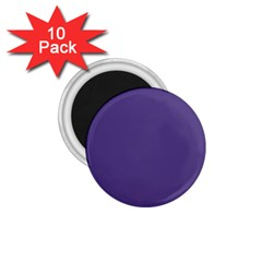Color Of The Year 2018   Ultraviolet   Pure&basic 1 75  Magnets (10 Pack)  by tarastyle