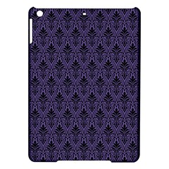 Color Of The Year 2018   Ultraviolet   Art Deco Black Edition Ipad Air Hardshell Cases by tarastyle