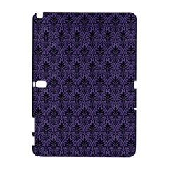 Color Of The Year 2018   Ultraviolet   Art Deco Black Edition Galaxy Note 1 by tarastyle