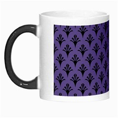 Color Of The Year 2018   Ultraviolet   Art Deco Black Edition  Morph Mugs by tarastyle