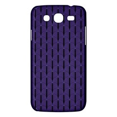 Color Of The Year 2018   Ultraviolet   Art Deco Black Edition Samsung Galaxy Mega 5 8 I9152 Hardshell Case  by tarastyle