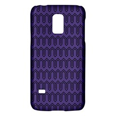 Color Of The Year 2018   Ultraviolet   Art Deco Black Edition Galaxy S5 Mini by tarastyle