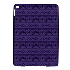 Color Of The Year 2018   Ultraviolet   Art Deco Black Edition Ipad Air 2 Hardshell Cases