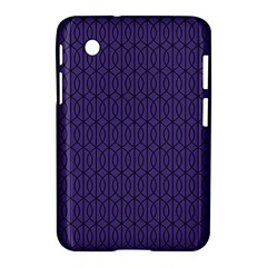 Color Of The Year 2018   Ultraviolet   Art Deco Black Edition 10 Samsung Galaxy Tab 2 (7 ) P3100 Hardshell Case  by tarastyle
