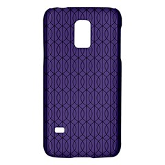 Color Of The Year 2018   Ultraviolet   Art Deco Black Edition 10 Galaxy S5 Mini by tarastyle