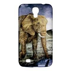 Elephant Samsung Galaxy Mega 6 3  I9200 Hardshell Case by ArtByThree