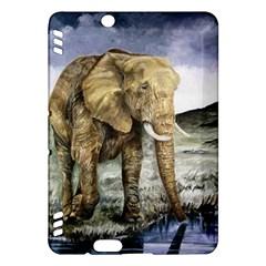 Elephant Kindle Fire Hdx Hardshell Case by ArtByThree