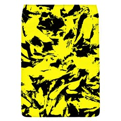 Yellow Black Abstract Military Camouflage Flap Covers (s)