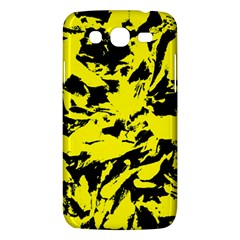 Yellow Black Abstract Military Camouflage Samsung Galaxy Mega 5 8 I9152 Hardshell Case  by Costasonlineshop