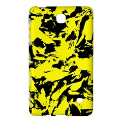 Yellow Black Abstract Military Camouflage Samsung Galaxy Tab 4 (7 ) Hardshell Case  by Costasonlineshop