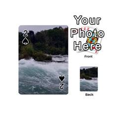 Sightseeing At Niagara Falls Playing Cards 54 (mini)  by canvasngiftshop