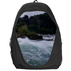 Sightseeing At Niagara Falls Backpack Bag by canvasngiftshop