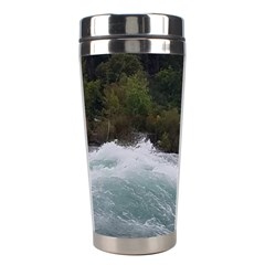 Sightseeing At Niagara Falls Stainless Steel Travel Tumblers by canvasngiftshop