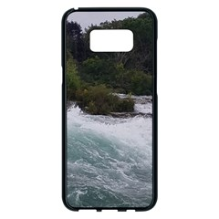 Sightseeing At Niagara Falls Samsung Galaxy S8 Plus Black Seamless Case by canvasngiftshop