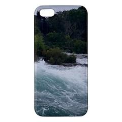 Sightseeing At Niagara Falls Iphone 5s/ Se Premium Hardshell Case by canvasngiftshop