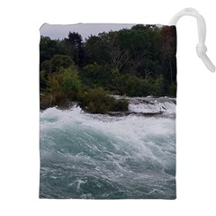 Sightseeing At Niagara Falls Drawstring Pouches (xxl)