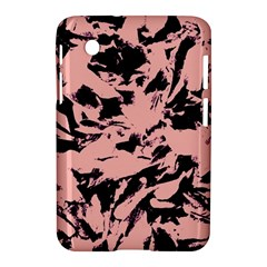 Old Rose Black Abstract Military Camouflage Samsung Galaxy Tab 2 (7 ) P3100 Hardshell Case  by Costasonlineshop