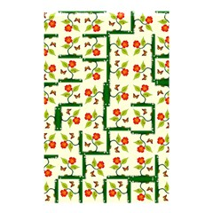 Plants And Flowers Shower Curtain 48  X 72  (small)  by linceazul