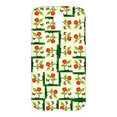 Plants And Flowers Samsung Galaxy S4 I9500/i9505 Hardshell Case by linceazul
