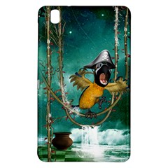 Funny Pirate Parrot With Hat Samsung Galaxy Tab Pro 8 4 Hardshell Case by FantasyWorld7