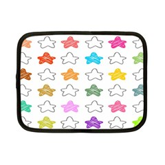Stars Set Up Element Disjunct Image Netbook Case (small)  by Onesevenart