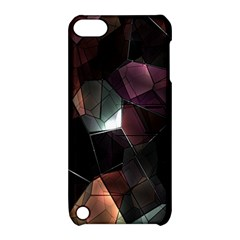 Crystals Background Design Luxury Apple Ipod Touch 5 Hardshell Case With Stand by Onesevenart