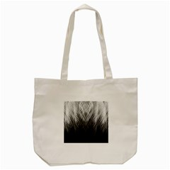 Feather Graphic Design Background Tote Bag (cream) by Onesevenart