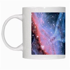 Sacred Geometry Mandelbrot Fractal White Mugs by Onesevenart