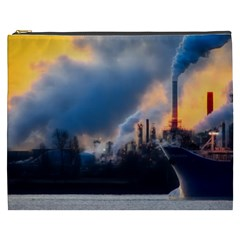 Warming Global Environment Nature Cosmetic Bag (xxxl)  by Onesevenart