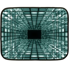 Abstract Perspective Background Double Sided Fleece Blanket (mini)