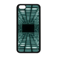 Abstract Perspective Background Apple Iphone 5c Seamless Case (black) by Onesevenart